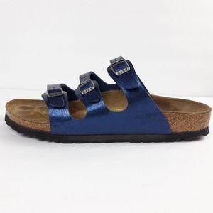 Birkenstock Florida blue sandals